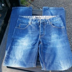 Armani Jeans Button Fly Straight Leg